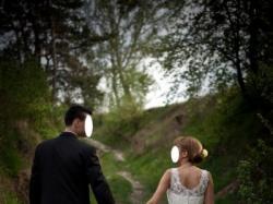 suknia ślubna(KOLEKCJA 2009) z firmy annais bridal;model: Julie