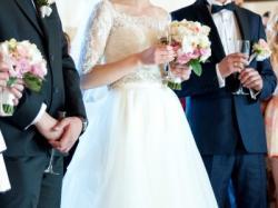 Suknia ślubna - kolekcja 2014, 2w1