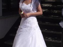 suknia ślubna kolekcja 2014 + bolerko gratis!!!