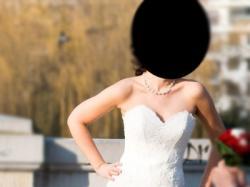 Suknia ślubna koronka 34- 36-38 najmodniejsza