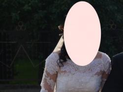 Suknia ślubna koronkowa