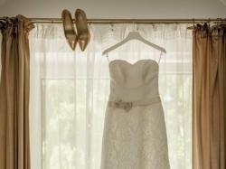 Suknia ślubna - koronkowa - AGNES - rozm. 36