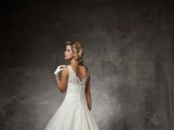 Suknia ślubna koronkowa Justin Alexander 8630 34/36 gratis