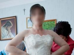 Suknia ślubna - koronkowa, szyta na zamówienie