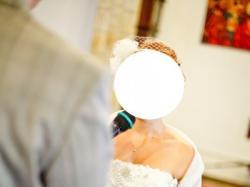 Suknia ślubna krótka Justin Alexander 8465 Ivory Jak nowa