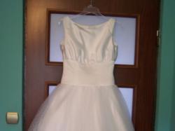 suknia slubna krotka lata 50-te NOWA 34 36 38