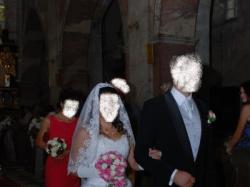 suknia ślubna (księżniczka)