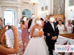 suknia ślubna ksieżniczka