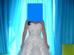 """Suknia ślubna """"księżniczka"""" oraz dodatki"""