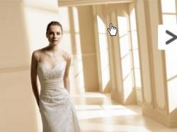 Suknia ślubna La Sposa Miel + pantofelki gino rossi