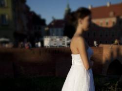 Suknia ślubna Leonora z kolekcji Quartz Nabla 2013
