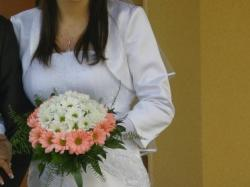 Suknia ślubna LETICIA plus dodatki tanio