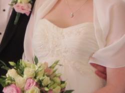 Suknia ślubna LILLY r. 38-40 ciąża i nie tylko!