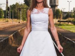Suknia ślubna Lisa Ferrera LF714 rozm. 4