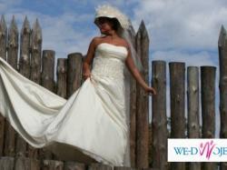 Suknia Ślubna LISA FERRERA, model : Demetrios 3052