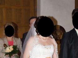 Suknia Ślubna M Ecru typu Pół-Syrena