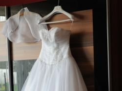 Suknia ślubna Madam Elle Tanio Gratis Buty Welon I Bolerko R38