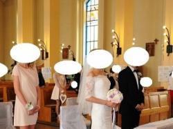 Suknia ślubna Madonna 2014 - stan idealny