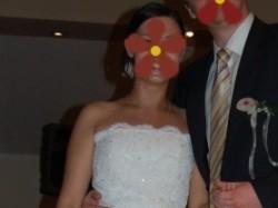 Suknia ślubna MADONNA – ST. PATRICK BAHAMAS 2008!