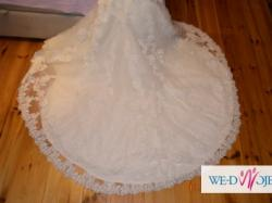 Suknia Ślubna Madonna Famosa Rybka+bolerko gratis