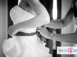 Suknia ślubna Madonna Famosa + welon gratis