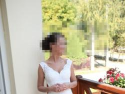 suknia ślubna MADONNA La Sposa Sala tren 34/36