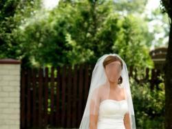 Suknia ślubna Madonna TRES CHIC 2010 model PU142 - stan idealny
