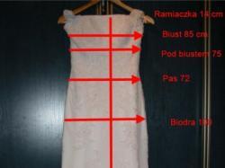 Suknia ślubna Madonna White One 220 - r. 36/38