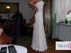 Suknia ślubna Madonna White One nr 427 (rozm:36)