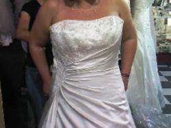 Suknia Ślubna Maggie Sottero model Rosemary; dla dziewczyny z większym biustem