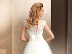 Suknia ślubna Mała 34 XS Koronkowa Model: Nabla Malva
