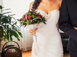 Suknia ślubna maxima 4411 rozmiar 36