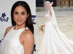 Suknia ślubna Meghan Markle raczej nie przyćmiła kreacji ślubnej Kate Middleton. Ale i tak przejdzie do historii!