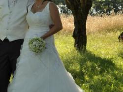 Suknia ślubna Miss Kelly MK 101-03 Rozmiar 42-44
