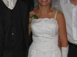 suknia ślubna- model angielski