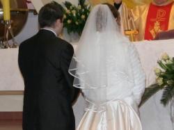 Suknia ślubna model DAMAS z kolekcji Mariees de Paris