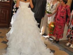 Suknia ślubna - model Emblema z kolekcji San Patrick 2010