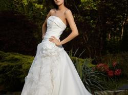 Suknia ślubna, model Fendi, kolekcja 2011