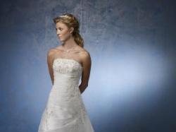 suknia ślubna Mori Lee model 4135, w bardzo dobrej cenie