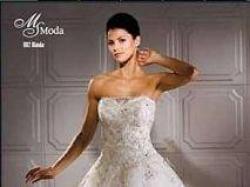 Suknia Ślubna MS Moda Evita Blanca Śliczna Kraków
