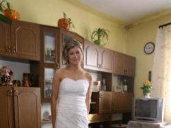Suknia Ślubna Ms Moda rozmiar
