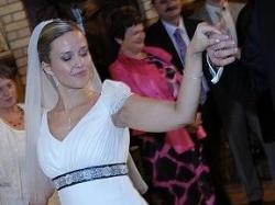 suknia ślubna muślinowa roz. 36