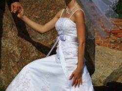 Suknia ślubna na bardzo szczupłą osobę
