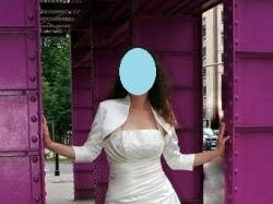 suknia ślubna na Piękną o wzroście ok. 180 cm :)