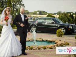 suknia ślubna na wysoką pannę młodą r.40-42
