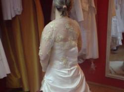 suknia ślubna niezwykła:)