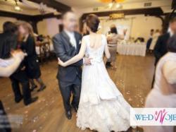 Suknia ślubna niezwykła koronkowa