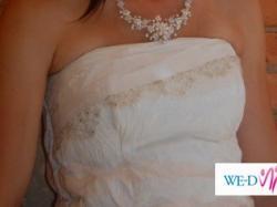 Suknia ślubna od Papilio, (halka i bolerko - gratis)