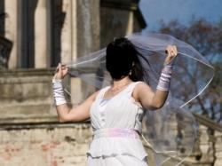 Suknia ślubna od poznańskiej projektantki Kama Ostaszewska