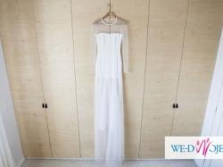 Suknia ślubna od projektanta Bartosza Malewicza